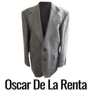 Oscar De La Renta Men's Blazer Sport Coat Size 42S